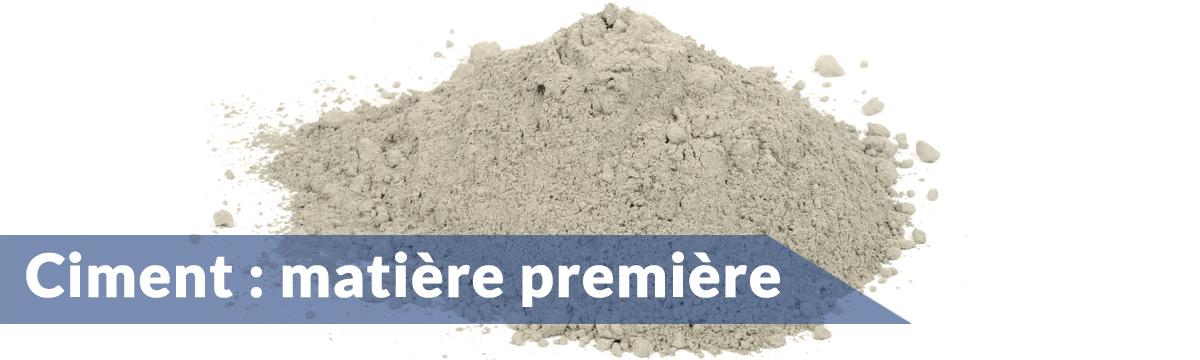 Ciment mati re premi re du b ton - Dosage beton pelle ...