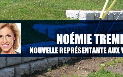 Nous sommes heureux d'accueillir Noémie Tremblay dans notre équipe !