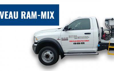 Découvrez notre Ram-Mix, notre nouvelle solution hybride de livraison de béton!