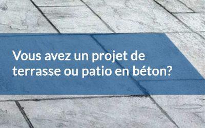 Terrasse ou patio : quels sont les avantages d'avoir une dalle de béton?